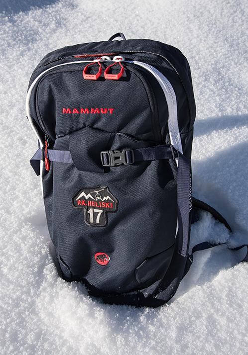 heliskiing snowpulse avalanche balloon pack