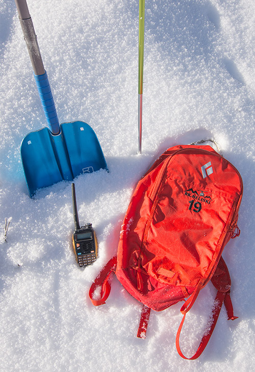 heliski safety guest pack