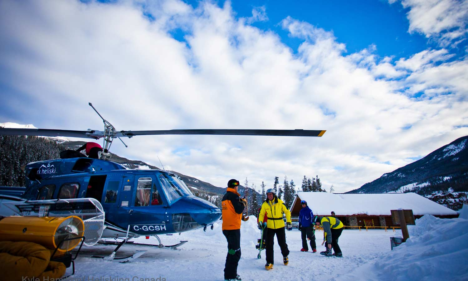 rk heliski helicopter safety talk